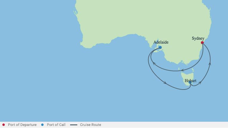 Sydney City Break With Tasmania Cruise 11 Nights /12 Days